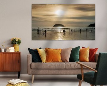 Kata beach, Phuket van Keesnan Dogger Fotografie