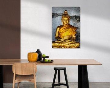 Thailand Buddha van Keesnan Dogger Fotografie