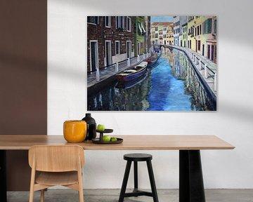 Die  geheimen Kanäle von Venedig von David Morales Izquierdo