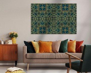 Goldene Zwanziger Art Deco Design von Andrea Haase