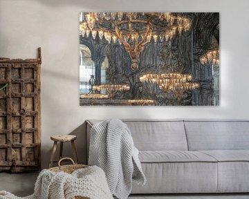 Leuchter in der Hagia Sofia von Frank Heinz