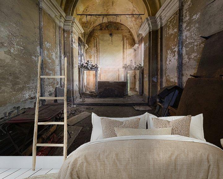 Beispiel fototapete: Verlassene Privatkapelle von Kristof Ven