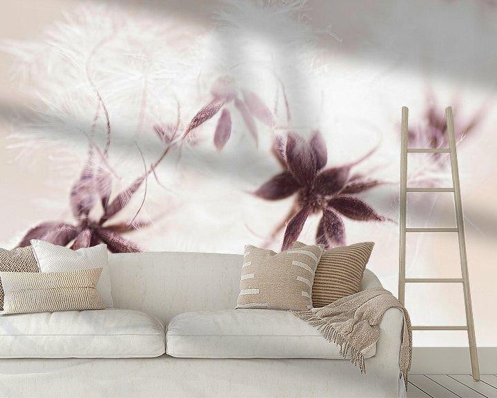 Sfeerimpressie behang: Botanical art van Birgitte Bergman