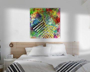 Glückliche Tage abstrakte Kunst von Nicole Habets