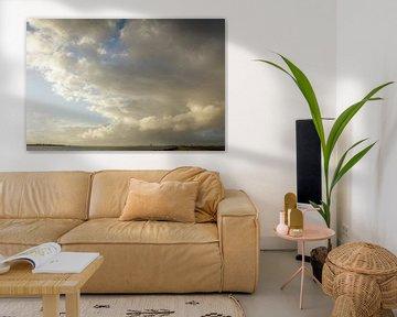 Almere onder spectaculaire wolken van Rene  den Engelsman