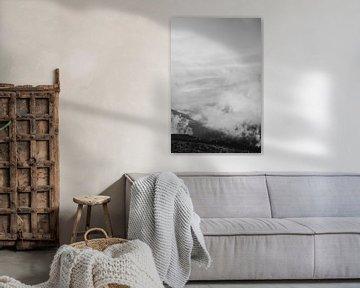 Kalter Morgen in Le Hohneck von Holly Klein Oonk