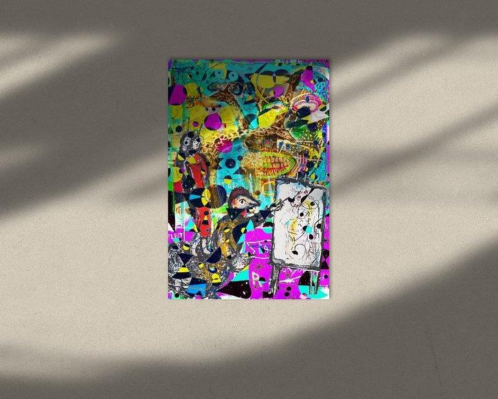 Beispiel: Kunstparty mit Chagall Miro Rothko Basquiat Brandt und Zanolino von Giovani Zanolino