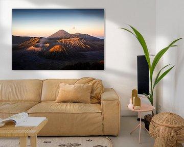 Bromo Vulkaan, Indonesie van Jeffrey Schaefer