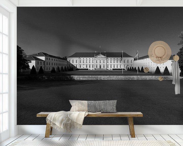 Sfeerimpressie behang: Kasteel Bellevue (Berlijn) van Frank Herrmann