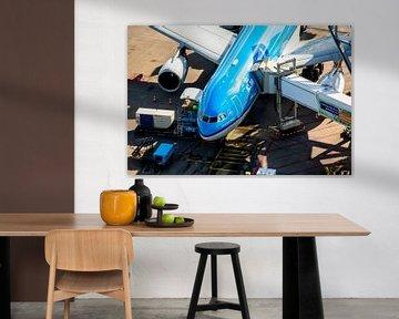 KLM Airbus A330 am Tor von Jeffrey Schaefer