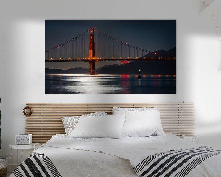 Beispiel: Golden Gate Bridge von Reinier Snijders