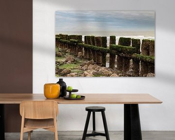 Golfbreker Zeeland van MSP Canvas