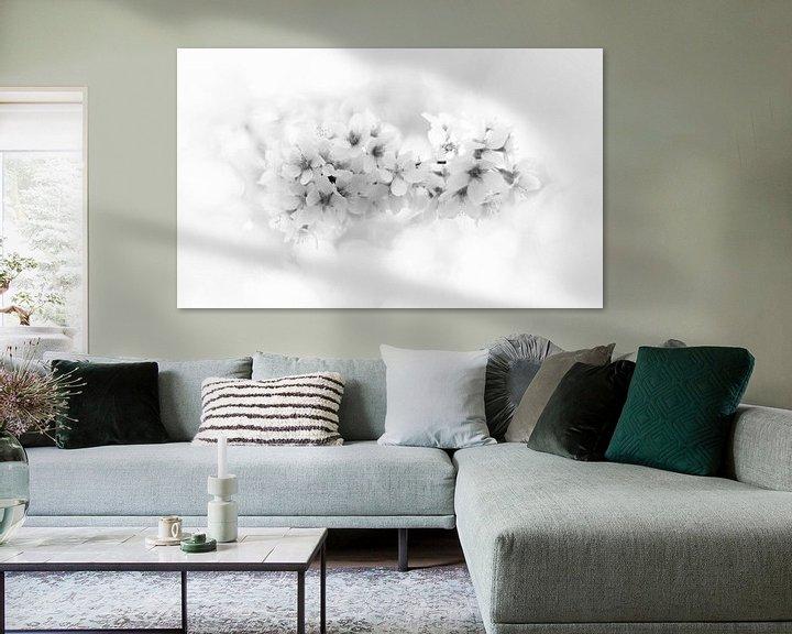 Impression: blossom close-up in black&white sur Bas Wolfs