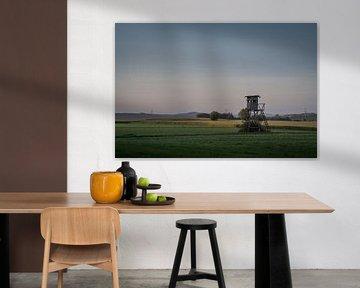 se percher dans la lumière du soir sur Jürgen Schmittdiel Photography
