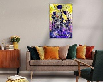 Kunstparty mit Van Gogh, Kiefer, Brandt und Zanolino. von Giovani Zanolino