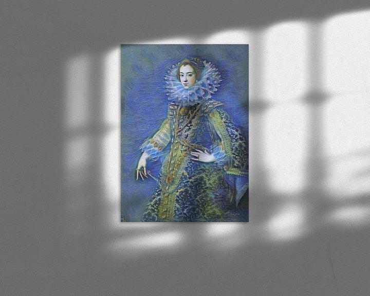 Sfeerimpressie: Sterrennacht met Koningin Elizabeth van Bourbon van Slimme Kunst.nl