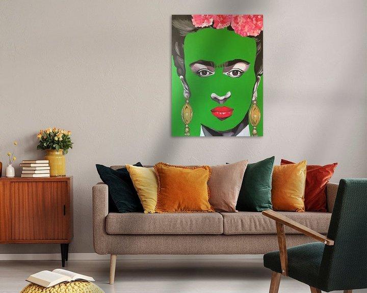 Beispiel: Frida Kahlo von Helia Tayebi Art