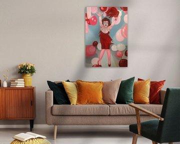 Marilyn Monroe von Helia Tayebi Art