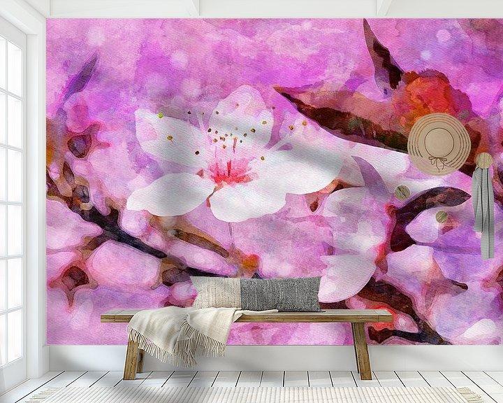 Beispiel fototapete: Cherry Blossom II von Andreas Wemmje