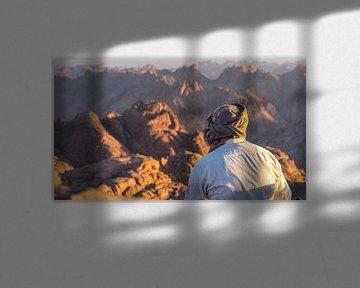 Bedoeïen op Mount Sinai, Egypte van Jessica Lokker