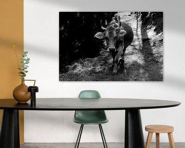 Schweizer Kuh von Linda Metten