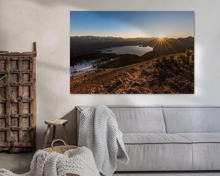 Beispiel: Sonnenuntergang am Walchensee von Denis Feiner