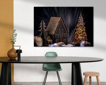 Concept Kerstmis: kerstwens van Michael Nägele