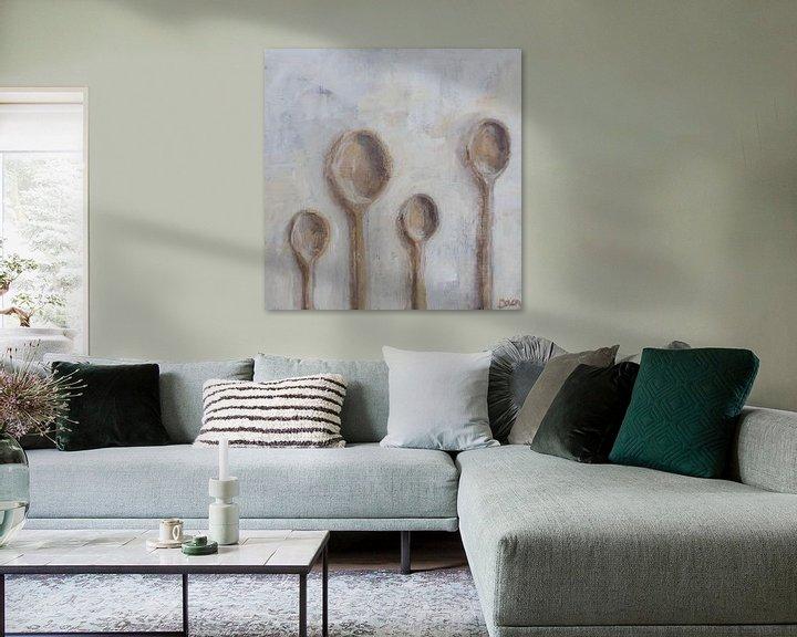 Beispiel: Holzlöffel von Mieke Daenen