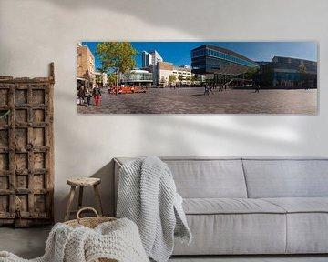 Stadthalle Almere Stad im Panorama. von Brian Morgan