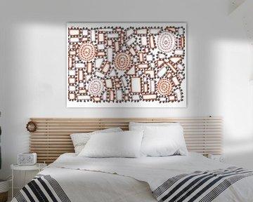 Kubismus 002 von Julien Willems Ettori