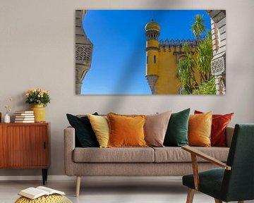 Peña-Palast in Sintra, Portugal von Jessica Lokker