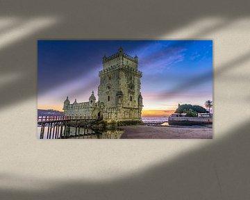 Torre de Belém in Lissabon (Portugal) von Jessica Lokker