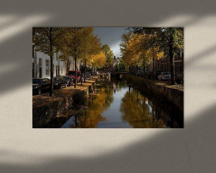 Sfeerimpressie: Herfstkleuren in Amersfoort van Stephan van Krimpen