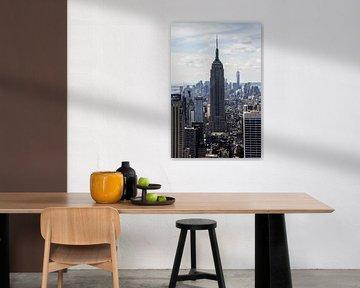 New York - Empire State Building van Erik Winde