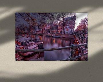 Kanalhäuser Jordaan von Leon Okkenburg