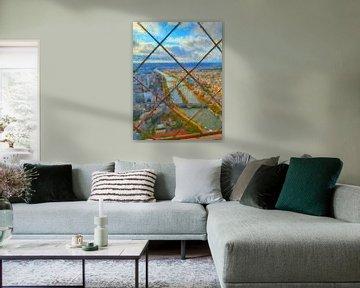 Uitzicht Eiffeltoren van Greta Lipman