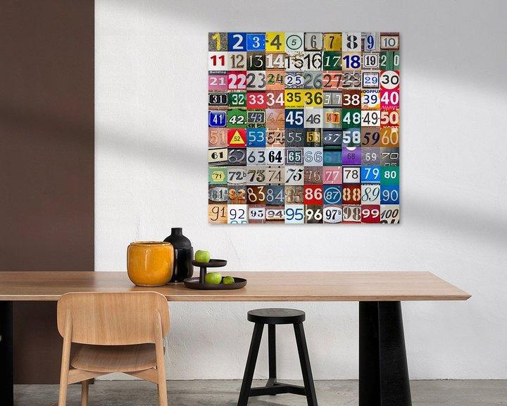 Sfeerimpressie: De getallenuitdaging: 1 tot en met 100 van Frans Blok