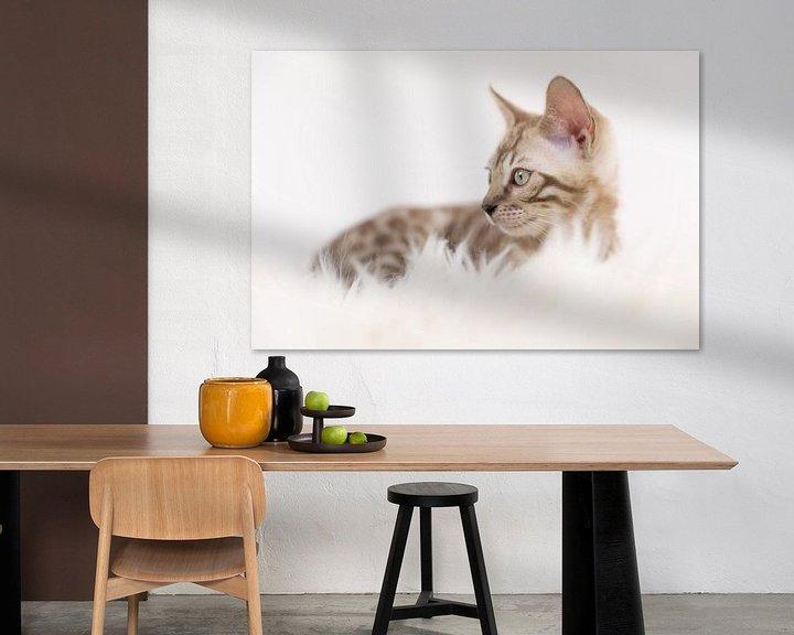 Sfeerimpressie: Bengaal kitten van Yvonne Pieters
