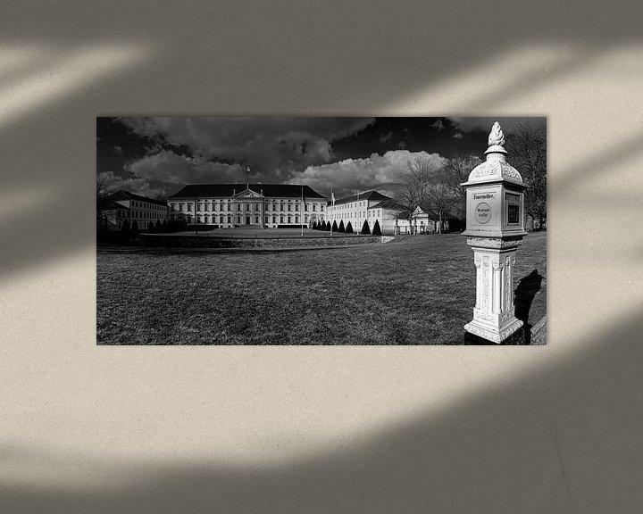Sfeerimpressie: Schloss Bellevue Berlijn met historisch brandalarm van Frank Herrmann
