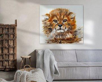 Süßer Gepardenjunge von Eye to Eye Xperience By Mris & Fred