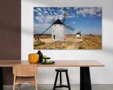 De windmolens van Consuegra