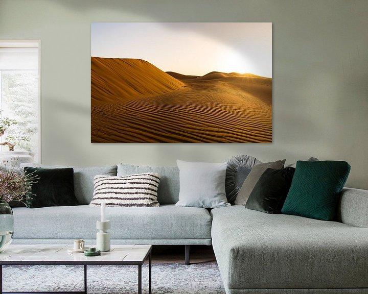 Sfeerimpressie: Zonsopgang in de woestijn van Jeroen Kleiberg
