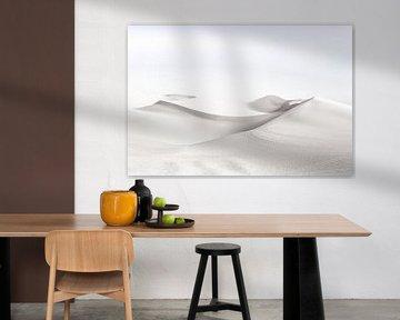 High Key Minimalistisch Landschap Woestijn van Art By Dominic
