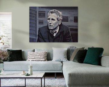 Paul Newman Malerei von Paul Meijering