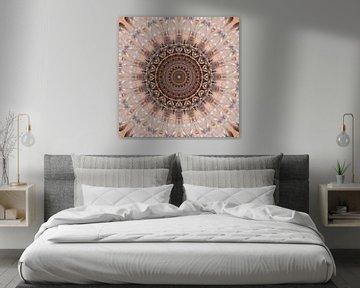 Mandala rose romantique sur Christine Bässler