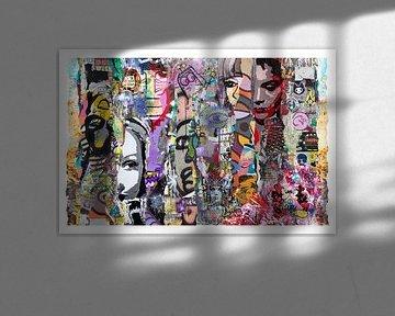 Collage d'art de rue