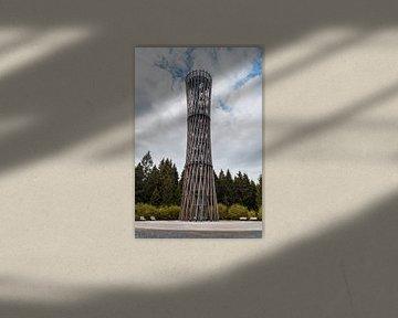 Der Lörmecke-Turm bei Warstein im Sauerland
