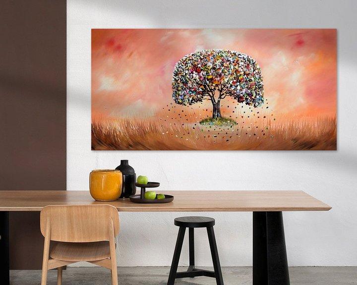 Beispiel: Baum des Lebens von Gena Theheartofart