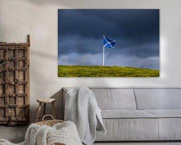 Vlag in de wind van 192fotos