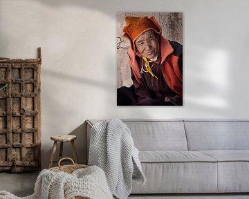 Buddhistische Nonne in Ladakh von Affect Fotografie